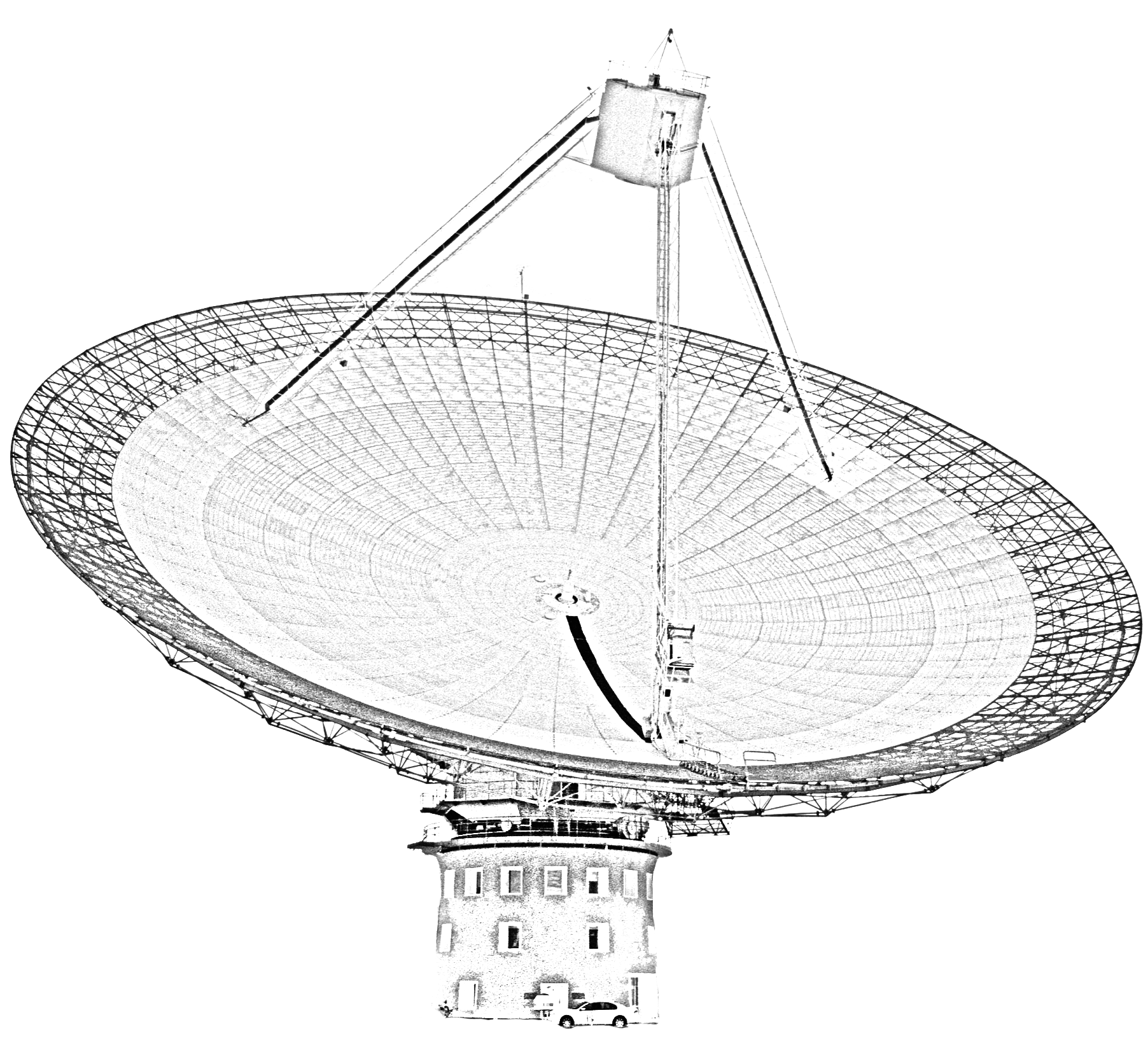 photo of the dish at Parkes
