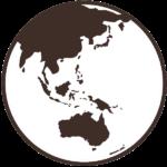 globe showing Geelong region